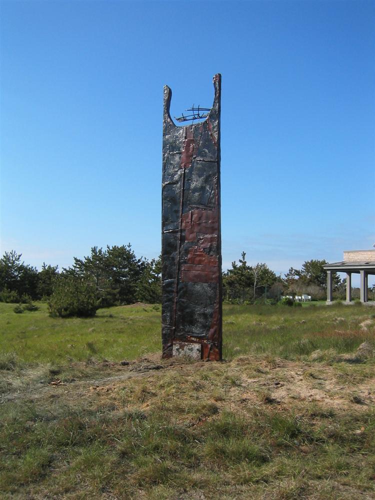 Boatspirit Totem Installation Nantucket