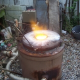 Casting Furnace at 2600F